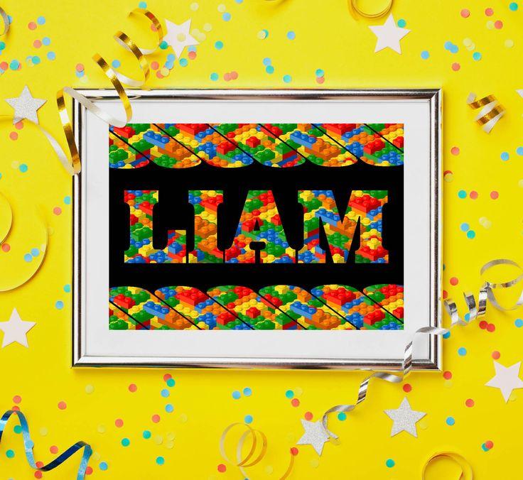 Lego, Lego Birthday Poster, Lego Party Printables, Lego Birthday Printables, Lego Birthday Poster, Lego Party Sign, Building Blocks Birthday