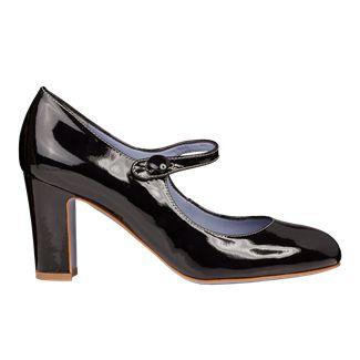 Pantofi dama negri 2402 piele lacuita