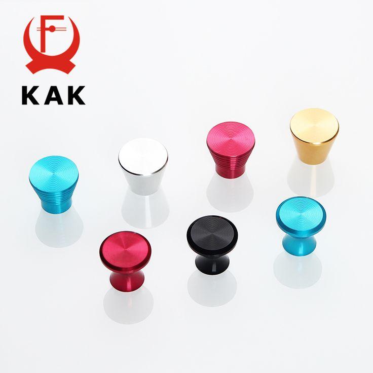 KAK Deluxe Aluminum Alloy Casting Modern Cabinet Handles Kitchen Cupboard Door Handles Drawer Knobs Wardrobe Furniture Handle