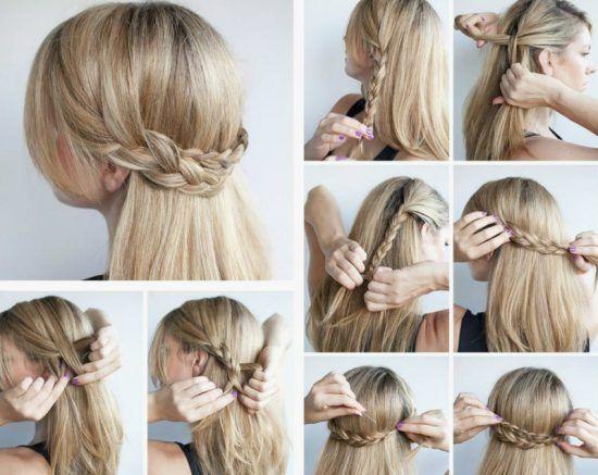 seitliche Frisuren anleitung Beau Schnelle und einfache Frisuren Stylingideen mit Anleitungen – Trend Damen Frisuren