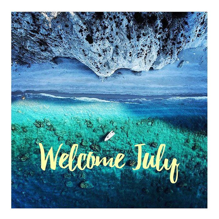 Hello July! ☀️ Finally together - please be good✌️ || www.wecreateharmony.com #wecreateharmony #summertime #welcomejuly2016
