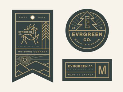 Evrgreen Co. Tag System // By Steve Wolf