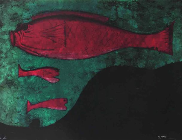 Peces - Rufino Tamayo