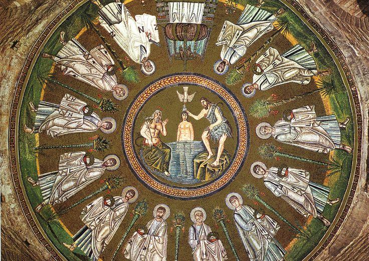 Ravenna, Baptysterium Arian