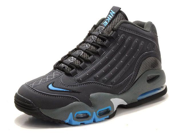 Ken Griffey Jr Shoes | Nike Men Ken Griffey Jr Shoes Grey Blue