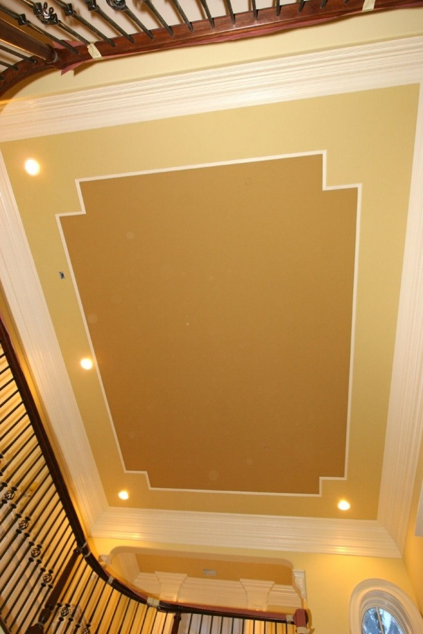 Ceiling molding home projects pinterest moldings for Wood trim ceiling ideas