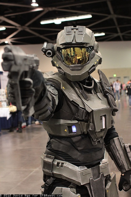 Halo: Reach Armor #cosplay