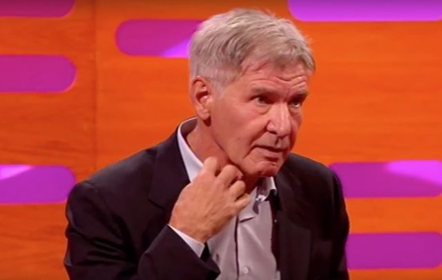 Nonverbal Communication Analysis No. 3445: Harrison Ford ...