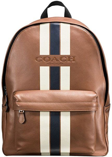 f98cc7b1ee5a Amazon.com  COACH CHARLES BACKPACK IN VARSITY LEATHER F72237