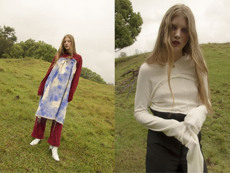turtleneck and trousers SATIN JUSTICE painted dress ISABEL WENGERT boots CIELLE MARSHAL. long sleeve top LOUISE VICENZINO pants ISABEL WENGERT