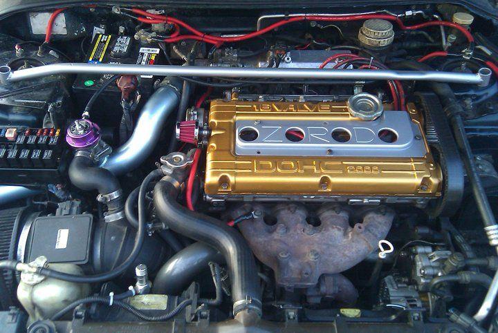 Neil 39 s 1995 mitsubishi eclipse gs t turbo turbo cars for Garage mitsubishi 95