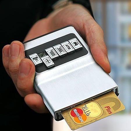 Cooler Than A Wallet Holder Is Pocket Dispenser For Your Cards