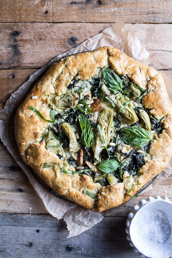 10 Must-Try Galette Recipes, From Sweet to Savory - Spinach and Artichoke…