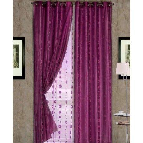 Visillo confeccionado 5042. Luce este increible visillo confeccionado fino y semitransparente delicado que define con carácter y elegancia el estilo de la sala o el dormitorio. Permite el paso de la luz a la vez que otorga intimidad al hogar. Gracias a su variedad de colores se combina a la perfección con cualquier tipo de decoración y estilo y, en combinación con una cortina, permite la creación de ambientes coordinados insuperables.