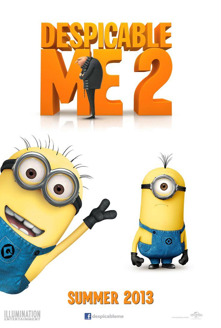 Depspicable me movie 2 despicable me 2 poster 610x903 movie review despicable me 2 disney movies onlinedespicable me 2cartoon