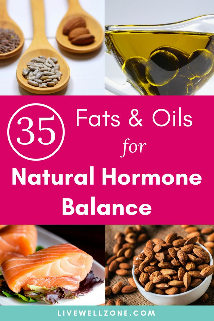 Eating for hormone balance why you need healthy fats