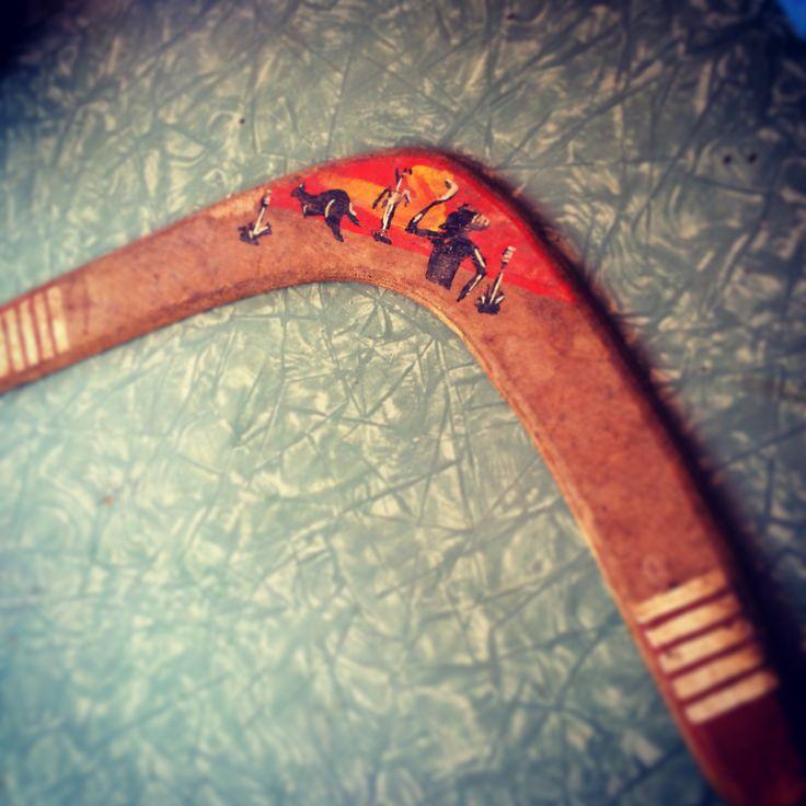 Il boomerang è indubbiamente un'arma tanto affascinante quanto rara, motivo per il quale trovarne uno a casa di Luisa è stata veramente una sorpresa inaspettata...