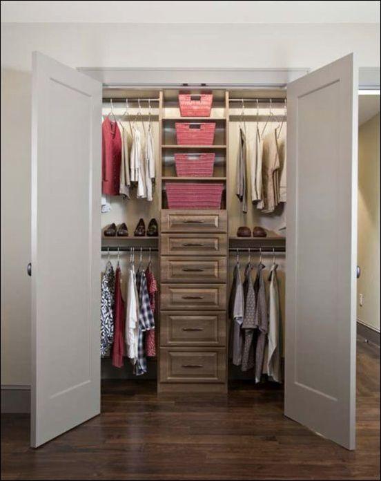 31 besten Ordnung im Kleiderschrank Bilder auf Pinterest - eckschränke für schlafzimmer