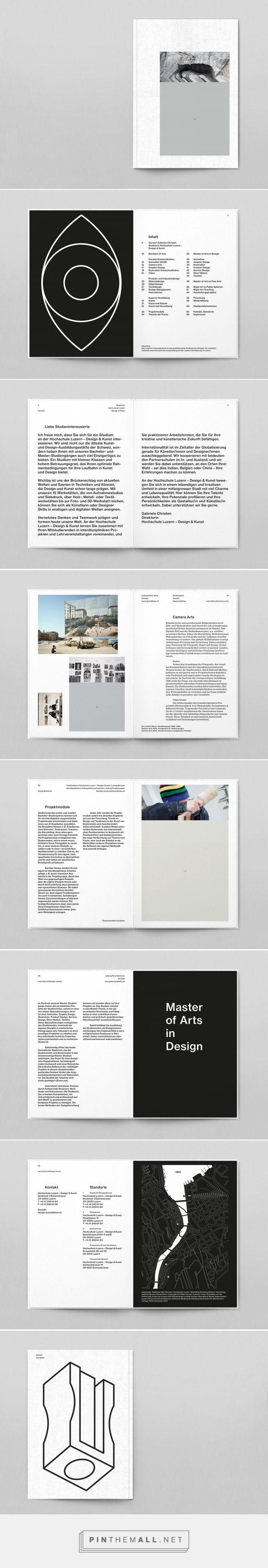 HOCHSCHULE LUZERN – DESIGN UND KUNST Studienangebot on Behance... - a grouped images picture - Pin Them All