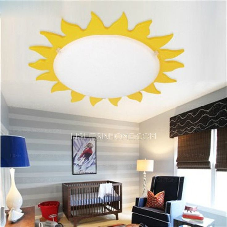 Kids Ceiling Lights With White Glass Shade With Simple Style