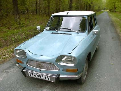 1971 Citroen Ami 8 - type that James May was forced to buy for a classic car race in Majorca. Nothing better than a Top Gear challenge!