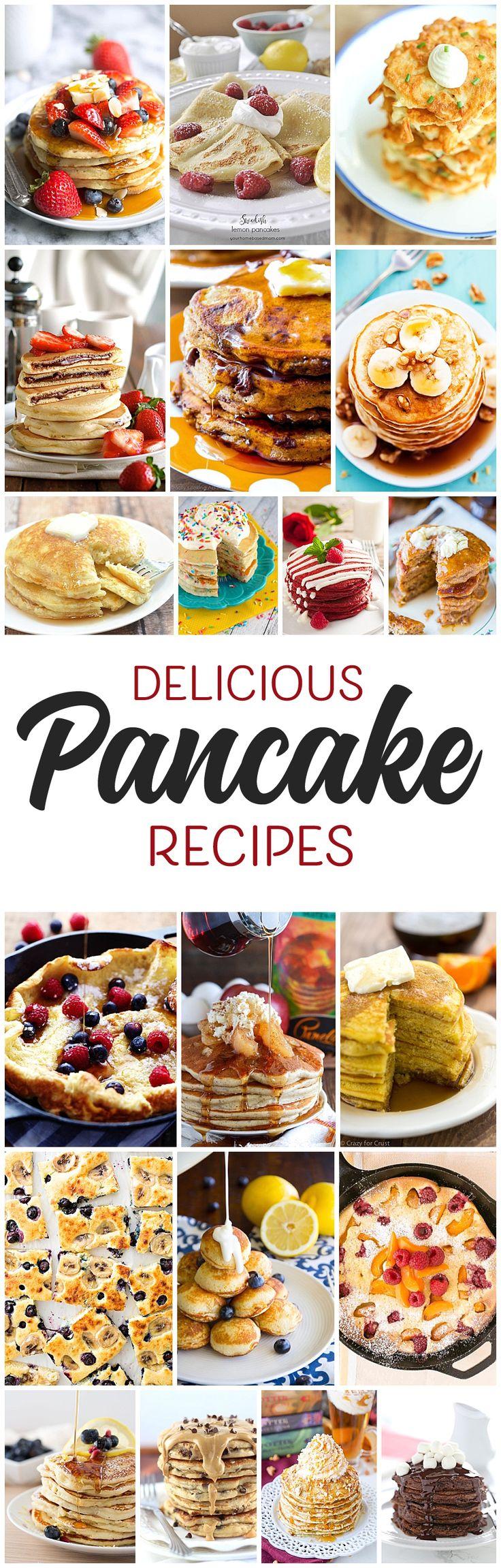 42 best Pancakes images on Pinterest | Pancake recipes, Breakfast ...