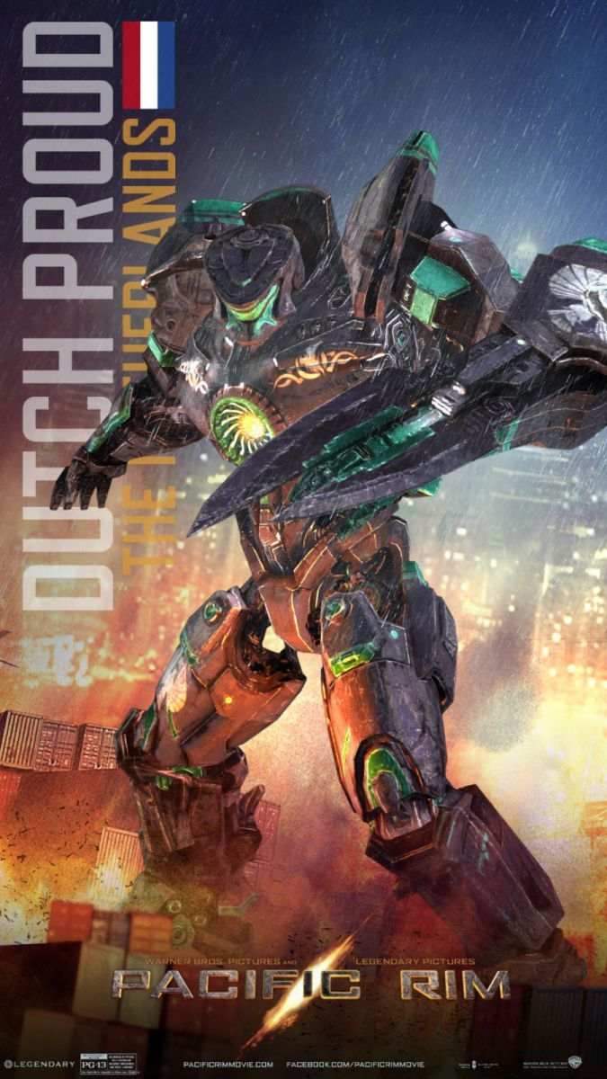 •Pacific Rim Jaeger Posters round up