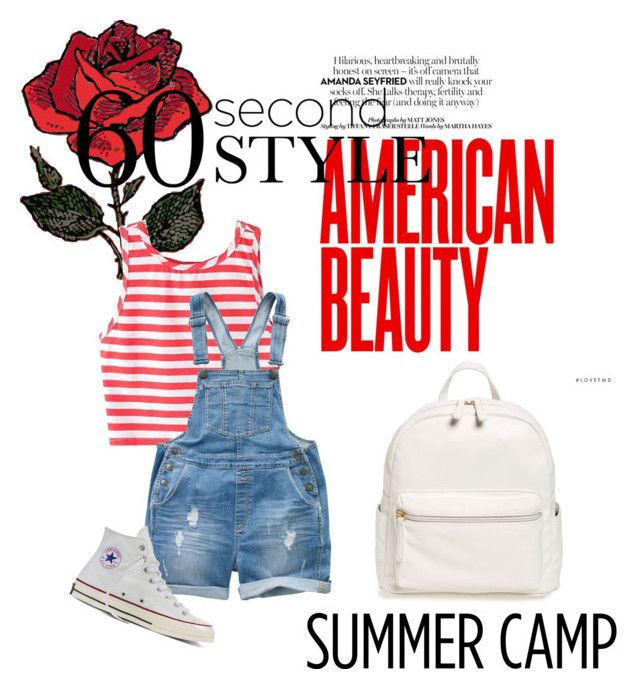 """""""Summer style"""" by imcute1550 on Polyvore featuring Fat Face, Converse and BP."""