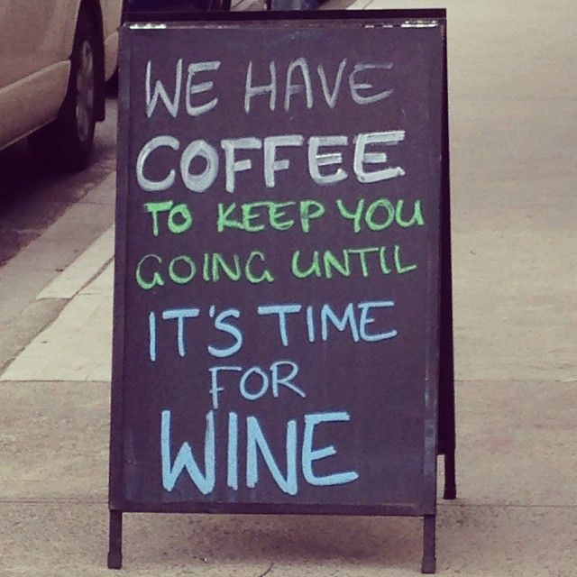 Made me think of home #wine #coffee