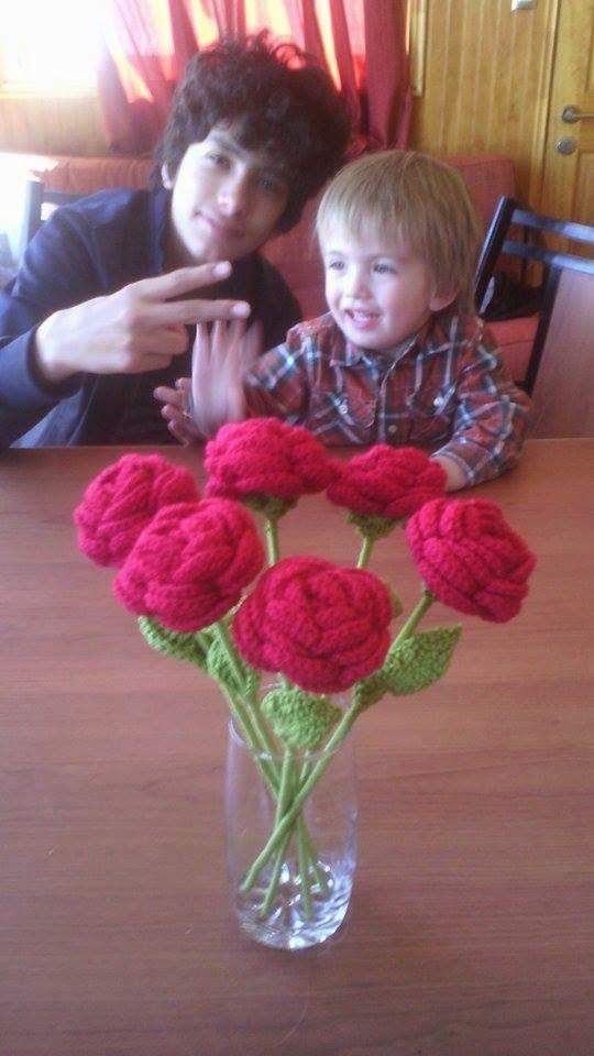 Lanas Oveja Negra: Rosas a crochet