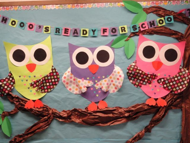 Owl Classroom Decoration ~ Welcome back to school bulletin boards ideas free