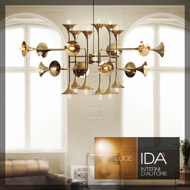 Si può suonare la luce?  Lampada scultura/Design Salerno