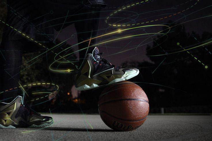 ILLUSTRATED MOTION | The Nike LeBron 11 'King's Pride' • Highsnobiety