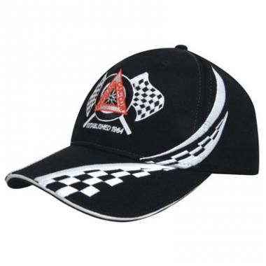 Printed baseball Cap-Brushed Heavy Cotton Baseball Cap With Swirling Checks Colours: black/white, navy/white, red/white, royal/white, white/black :: Clothing and Textiles :: Promo-Brand Merchandise :: Promotional Branded Merchandise Promotional Products l Promotional Items l Corporate Branding l Promotional Branded Merchandise Promotional Branded Products London