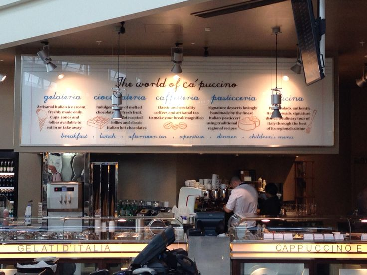 Heathrow cafe - clear information