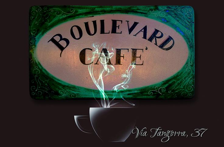 CLIENTE: Boulevard Cafè LAVORO: Grafica Bigliettino da Visita