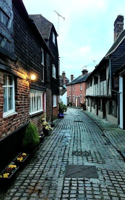 All Saints Lane - Canterbury, Kent, England, UK