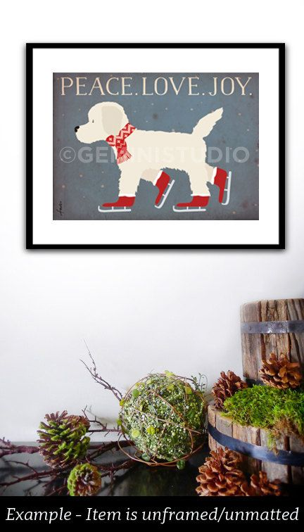 Available in dozens of breeds. Convo for more information.    What is a giclee? http://www.gicleeprint.net/abtgclee.asp    Details about how our giclees are sized: http://geministudioart.com/gicleesizing.jpg    This is a professional quality UNFRAMED, archival matte finish giclee print of my original graphic illustration. The giclee is produced using premium archival medium. This is an Epson print on matte enchanced paper, produced in the highest quality for rema...