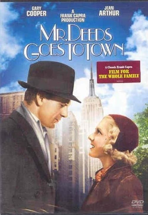 Watch->> Mr. Deeds Goes to Town 1936 Full - Movie Online