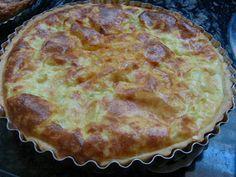 Torta de queijo minas da Rita Lobo