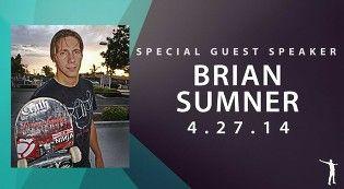 Guest Speaker Brian Sumner