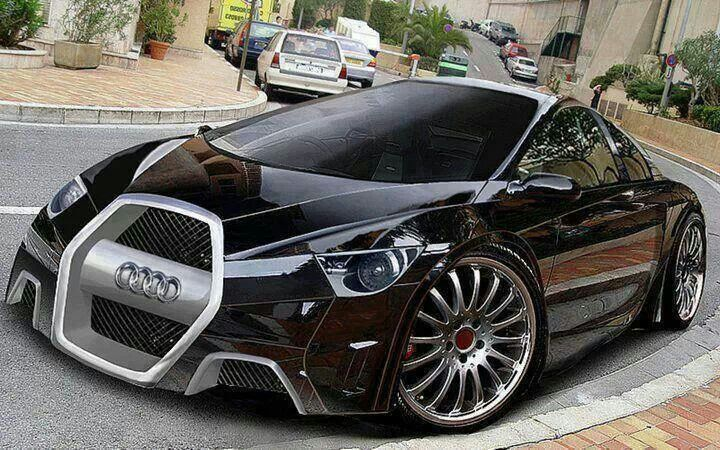 This Is One Cool Car. The Audi Concept