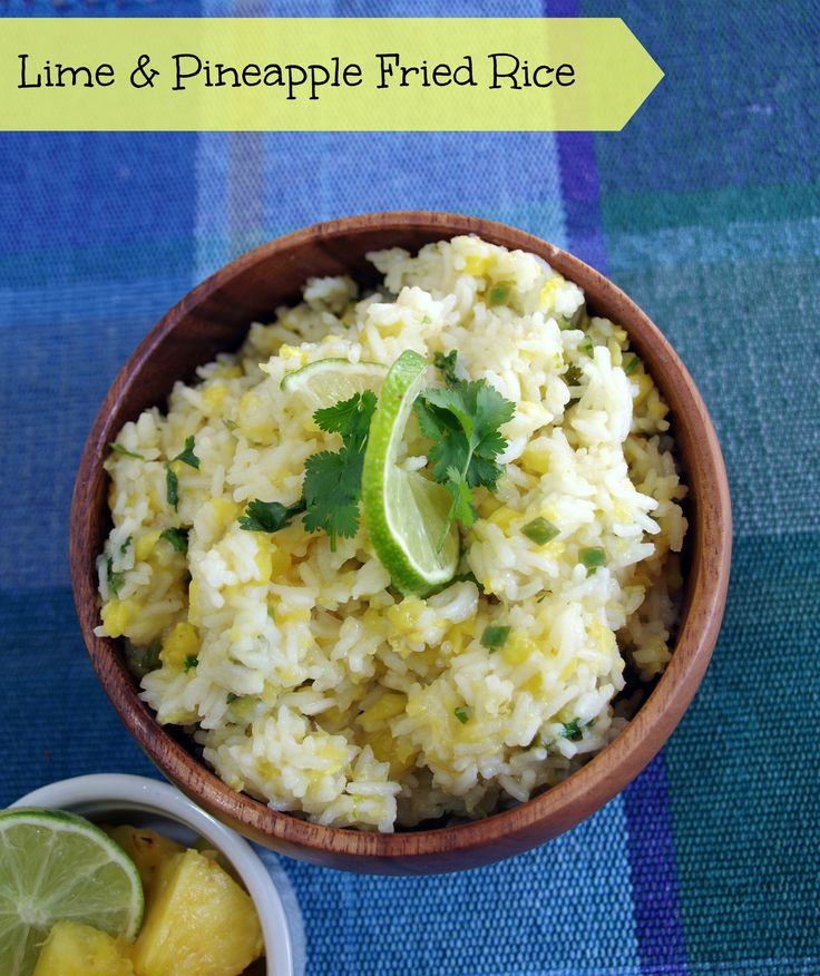 Delicious Recipes Made With Pineapple   Fried rice ...