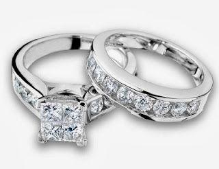 Diamond Engagement Ring and Wedding Band SetStore Diamond Engagement RingDiamond Engagement Ring