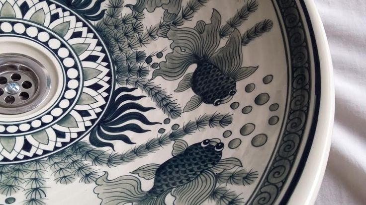 http://ebay.eu/2lbpNWi  Hand painted porcelain wash basins.  FREE WORLD POSTAGE.  Hello, thanks for liking my posts.