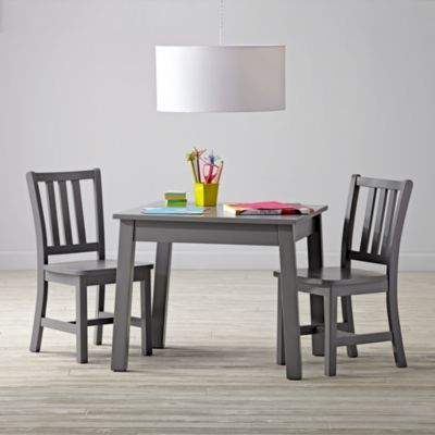 anywhere square grey play table chairs set - Best Table And Chairs For Toddler