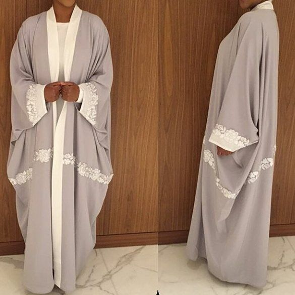 Even though I'm not a huge fan of coloured Abaya's, but this colour is pretty cool. I'll definitely use it in the future in a black Abaya.