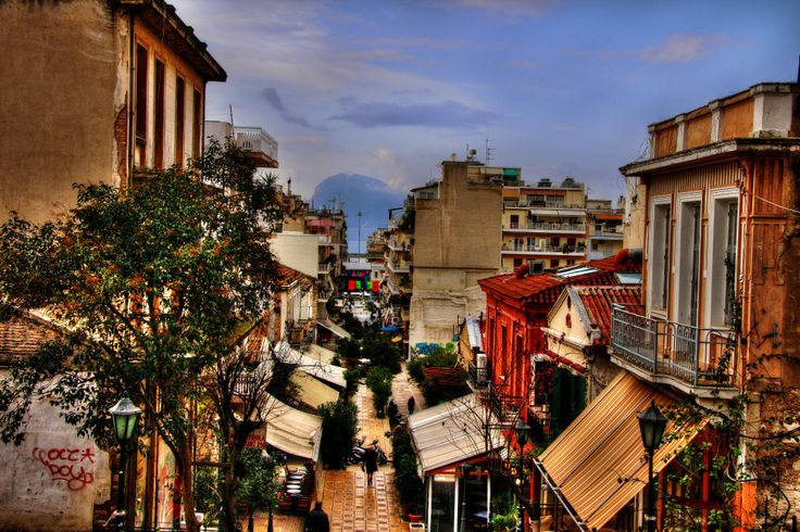 Patras, Greece - Gerokostopoulou str.