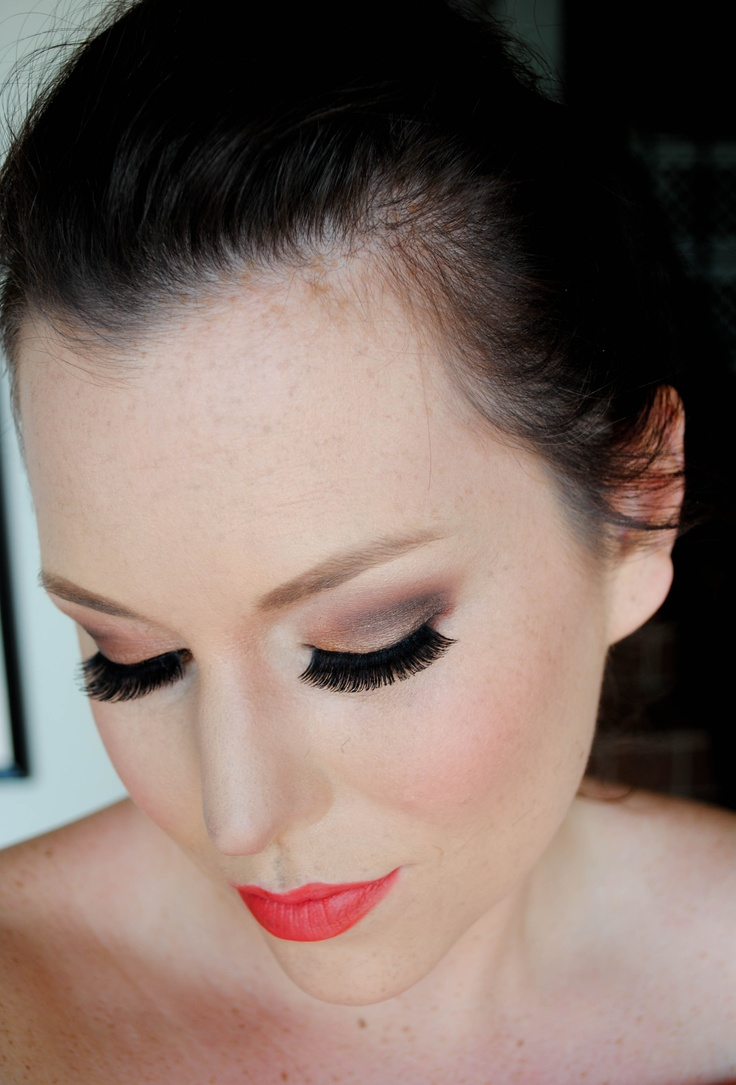 Golden Bronze and Deep Brown Smokey Eye Tutorial