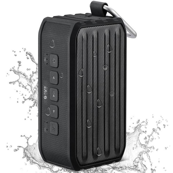 bluetooth Speaker Waterproof IPX4 Portable Wireless //Price: $63.49 & FREE Shipping //     #laptops #hack #screen #iphone